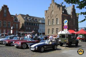 Blick auf den Marktplatz - OCRE Oldtimertreffen 2019