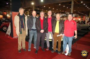 Interclassics Maastricht Besuch - einige mitgereisten Mitglieder und Gäste sind hier leider nicht zu sehen (18.01.2020)