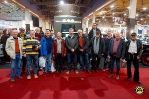 Gruppenfoto auf der Oldtimermesse in Maastricht (14.01.2017)