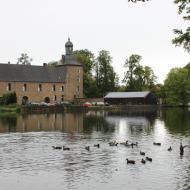 unterwegs am Schloss Tüschenbroich - OCRE Herbstausfahrt 2017