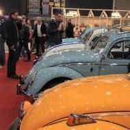 es wurden auch zahlreiche VW Käfer angeboten - Interclassics Maastricht 2018