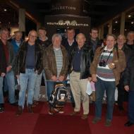 Gruppenfoto aus der Messehalle  - Interclassics Maastricht 2018