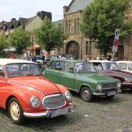 unterwegs auf dem Marktplatz (3) -  6. Oldtimertreffen in Erftstadt Lechenich (24.06.2018)