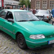 Ford Scorpio - noch nicht so alt, aber bereits selten - ehemaliges Polizeifahrzeug - 6. Oldtimertreffen in Erftstadt Lechenich (24.06.2018)