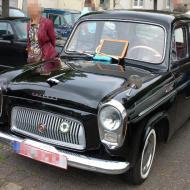 Ford Prefect von Ford GB als Linkslenker (Ende 50er) - klasse Zustand und selten - 6. Oldtimertreffen in Erftstadt Lechenich (24.06.2018)