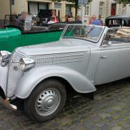Adler 2 Liter Cabriolet - sehr selten, da meist im 2. Weltkrieg verheizt, dieses Auto ist aus Finnland - 6. Oldtimertreffen in Erftstadt Lechenich (24.06.2018)