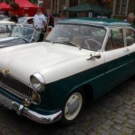 Simca Ariane - seltener Wagen hierzulande, dieser Wagen stammt aus Belgien - 6. Oldtimertreffen in Erftstadt Lechenich (24.06.2018)