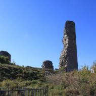 die Burgruine oberhalb von Kronenburg - OCRE-Herbstausfahrt 2018