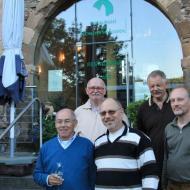 Gründungsfahrt 2012 - der erste Vereinsvorstand