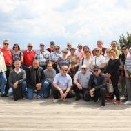 Gruppenfoto auf dem Baumwipfelpfad - OCRE - Saisoneröffnung 2019 (19.05.2019)