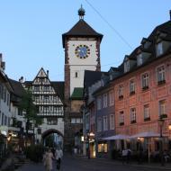 das Freiburger Schwabentor ist das jüngere der beiden erhaltenen mittelalterlichen Stadttore - OCRE Clubreise in den Schwarzwald (1.6.2019)