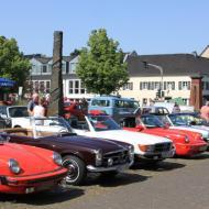 die Clubmitglieder stellten ebenfalls ihre Fahrzeuge aus - OCRE Oldtimertreffen 2019