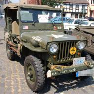 WW2 Willys Jeep in schönen originalen Erhaltungs- und Ausstattungszustand - OCRE Oldtimertreffen 2019