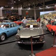 auf der Messe wurden ungezählte Autos angeboten - vom Käfer bis zum RollsRoyce (18.01.2014)