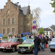Oldtimertreffen in Erftstadt Lechenich 2015 vor dem historischen Rathaus