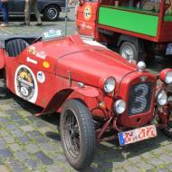 Austin Seven Sport - Baujahr 1933 - wird auch im Regen gefahren