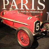 der ausgestellte Alfa Romeo Tipo B P3 (Baujahr 1934) wird im Februar 2017 in Paris versteigert - Schätzwert 3.8 - 5 Millionen Euro