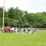 Picknick auf dem Dorfplatz von Merode - OCRE Saisoneröffnung 2017 (21.05.2017)