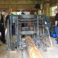 Besuch im Museumssägewerk in Zweifall - OCRE Saisoneröffnung 2017 (21.05.2017)