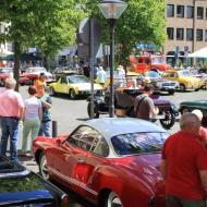 Impressionen vom 5. Oldtimertreffen vom Oldtimerclub Rhein-Erft auf dem Marktplatz von Erftstadt-Lechenich (2)