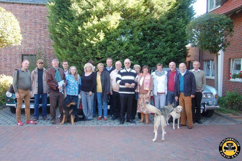 Gründungsfahrt 2012 - Gruppenfoto nach dem Frühstück