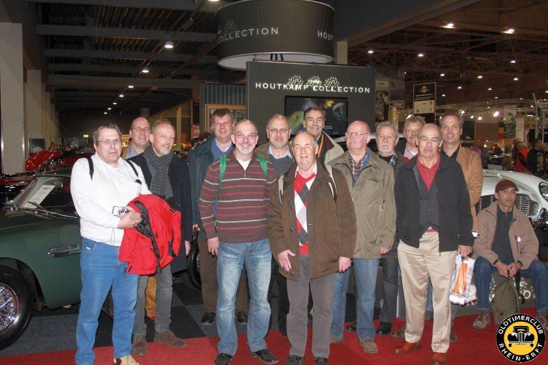 Gruppenfoto im MECC (18.01.2014)