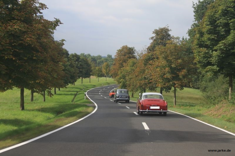 OCRE - Herbstausfahrt 2013 : unterwegs (1)