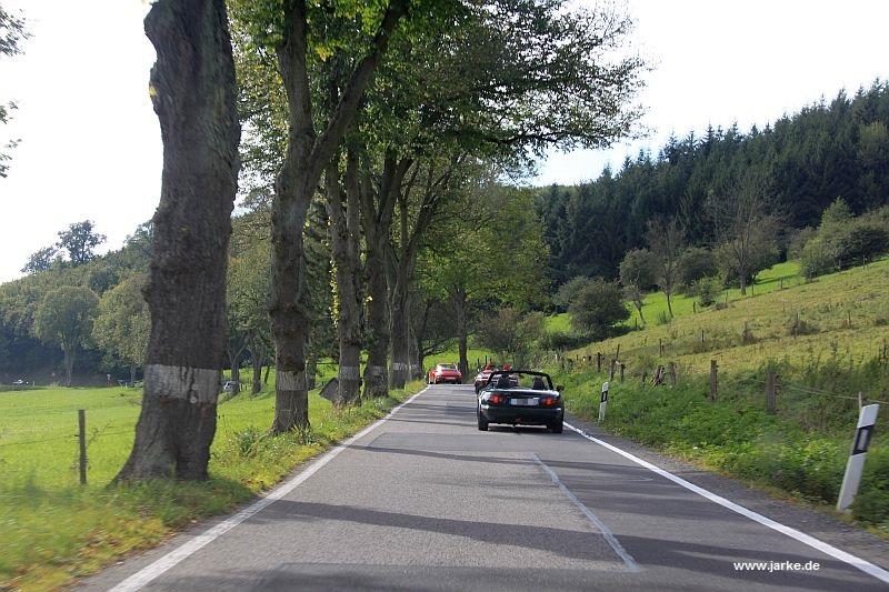 OCRE Herbstausfahrt 2014 ... unterwegs in der Eifel