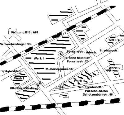 Wo finde ich Porsche in Stuttgart Zuffenhausen ?,Porsche 911